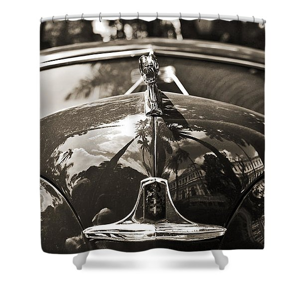 Classic Car Detail - Dodge 1948 Shower Curtain