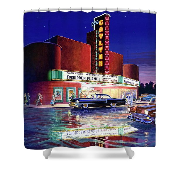 Classic Debut -  The Gaylynn Theatre Shower Curtain