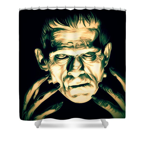 Classic Frankenstein Shower Curtain