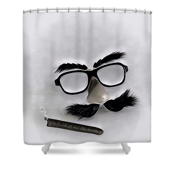 Classic Groucho Shower Curtain
