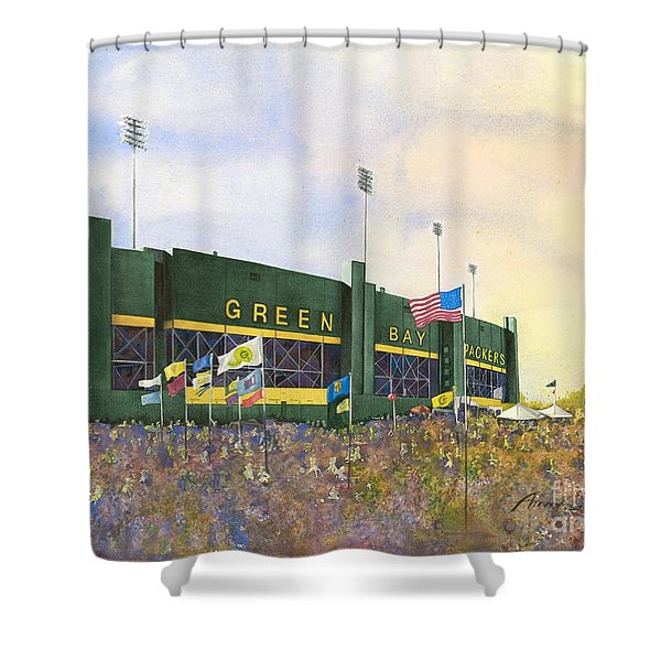 Classic Lambeau Shower Curtain