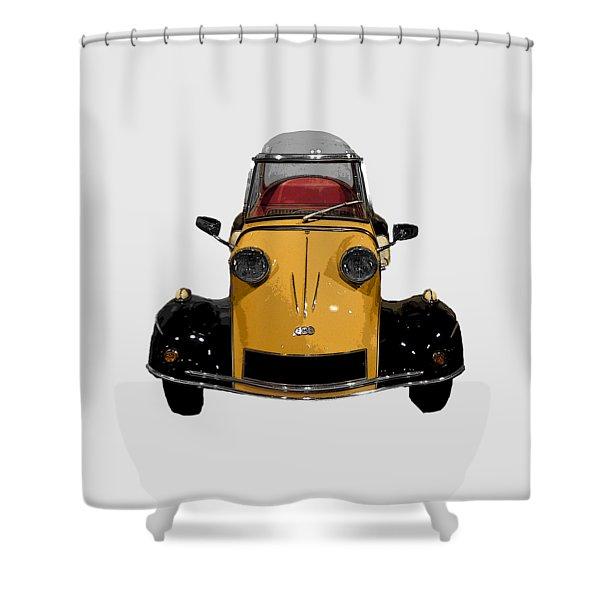 Classic M Motor Art Shower Curtain