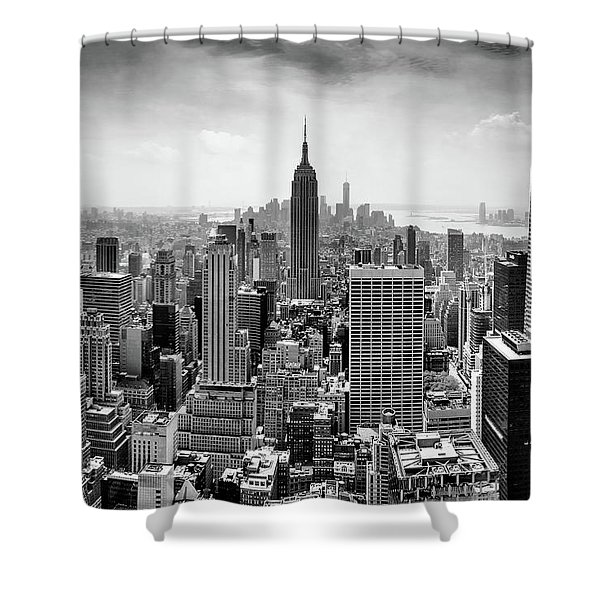 Nyc Skyline Shower Curtains Fine Art America