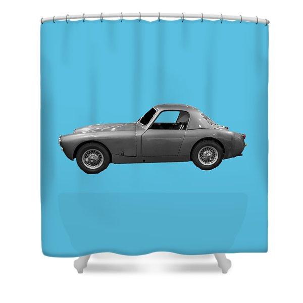 Classic Sports Silver Art Shower Curtain