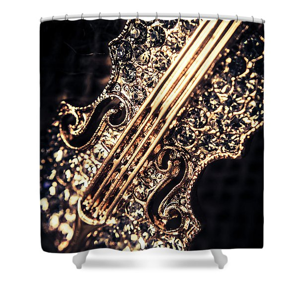 Classical Performing Art Shower Curtain