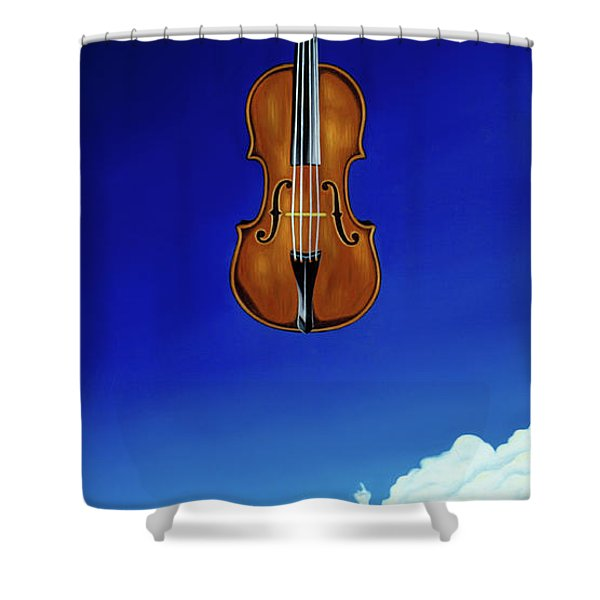 Classical Seascape Shower Curtain