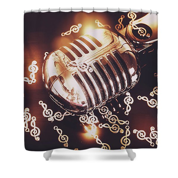 Classics At The Audio Hall Shower Curtain