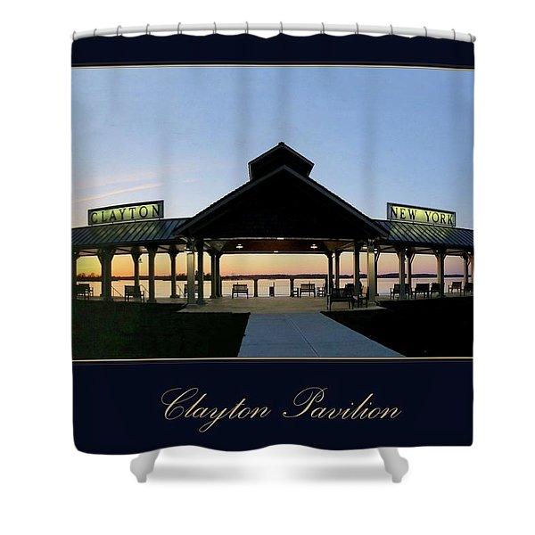 Clayton Pavilion Shower Curtain
