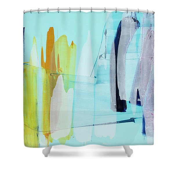 Clear As Day Shower Curtain