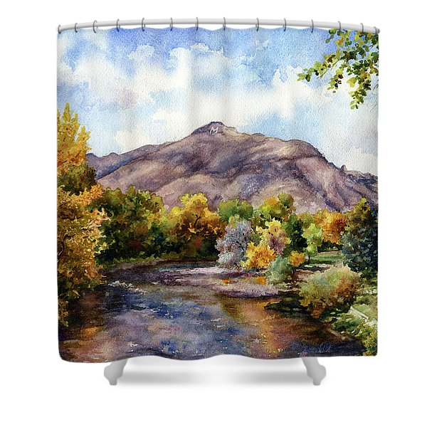 Clear Creek Shower Curtain