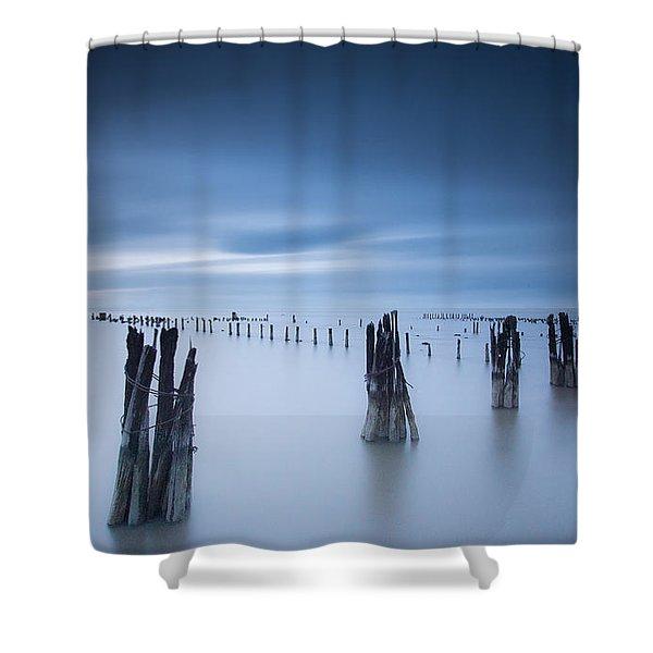 Clear Void Shower Curtain