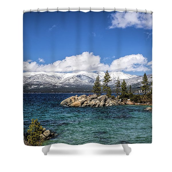 Clearing Sky Shower Curtain