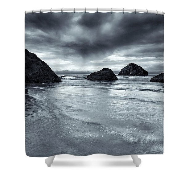 Clearing Storm Shower Curtain