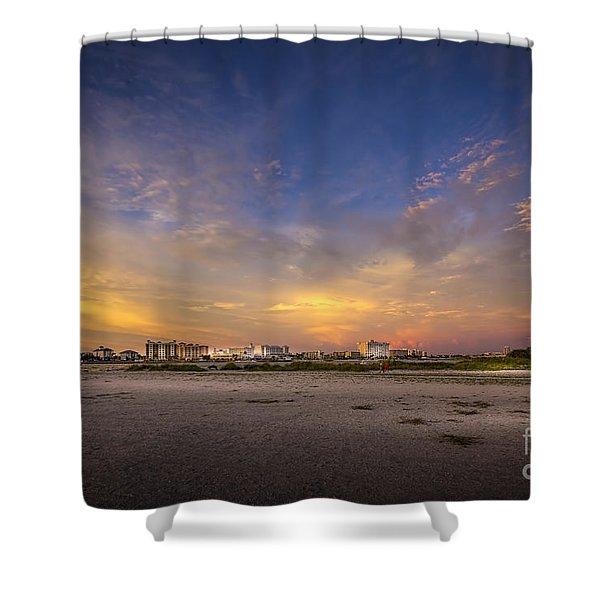 Clearwater Intercoastal Shower Curtain