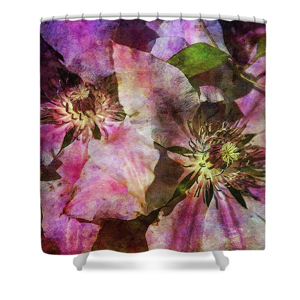 Clematis 9569 Idp_2 Shower Curtain