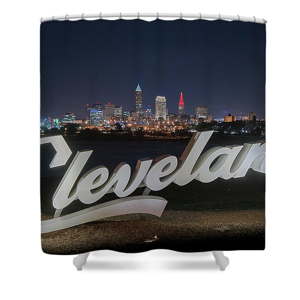 Cleveland Pride Shower Curtain