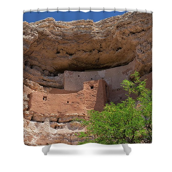 Cliff Dwellings Shower Curtain