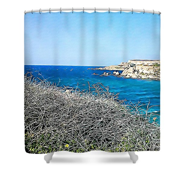 Cliff  Shower Curtain
