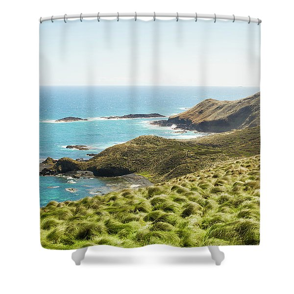 Cliffs And Capes Shower Curtain