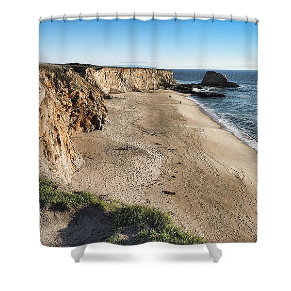 Cliffs Of Davenport Shower Curtain