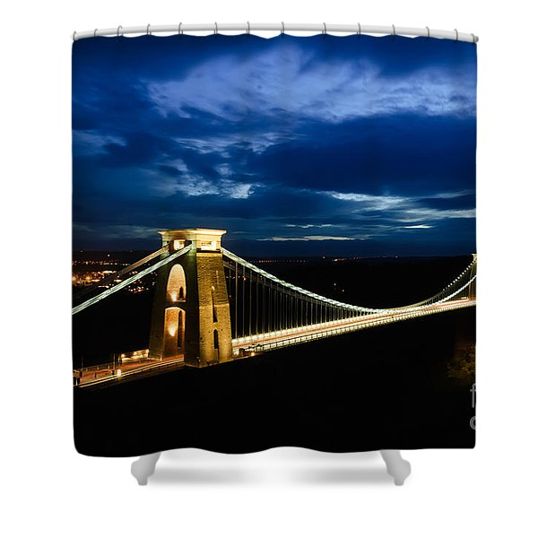 Clifton Suspension Bridge, Bristol. Shower Curtain