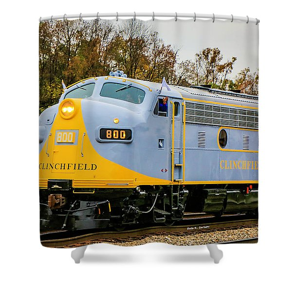 Clinchfield No 800 Shower Curtain