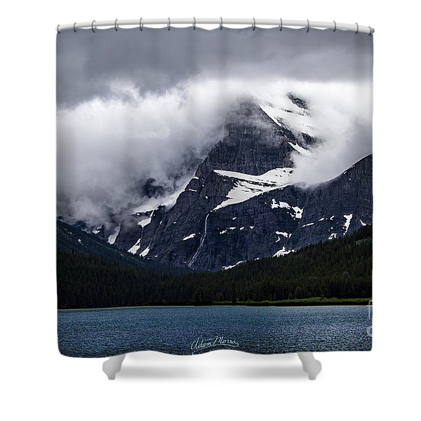 Cloaked In Storm Shower Curtain