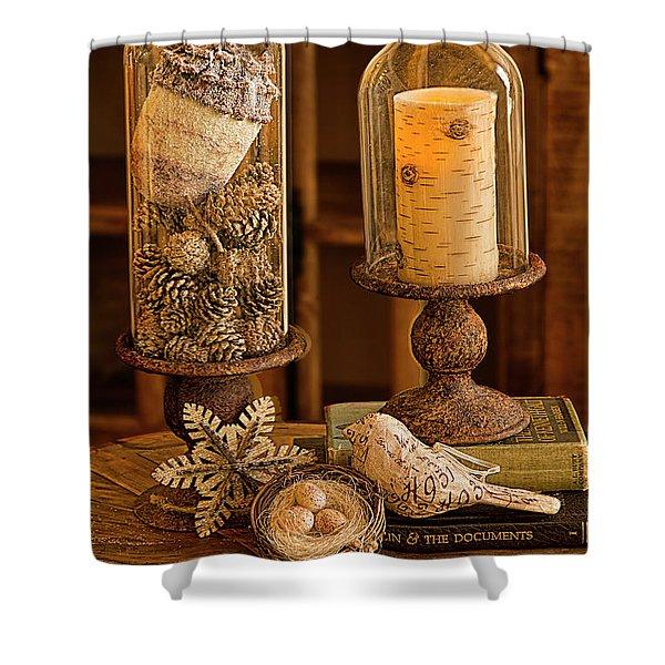 Cloches De La Nature Shower Curtain
