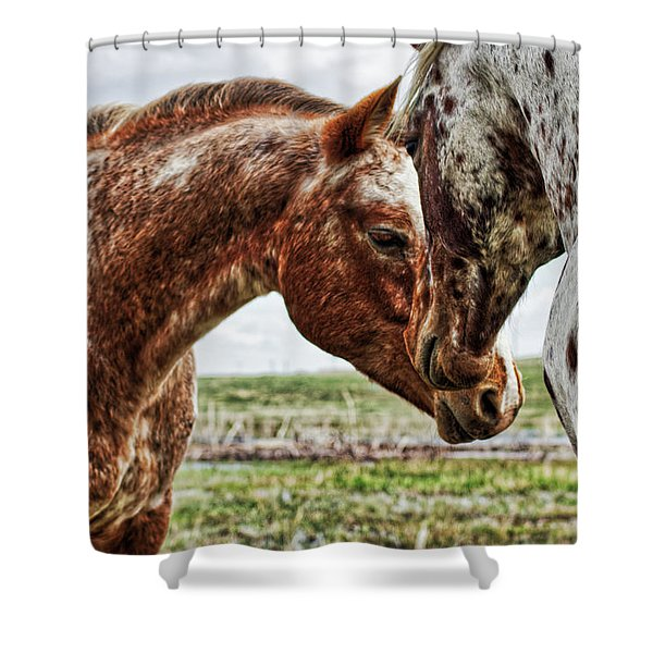 Close Friends Shower Curtain