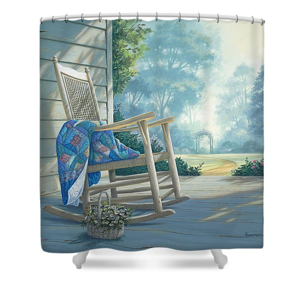 Close To My Heart Shower Curtain