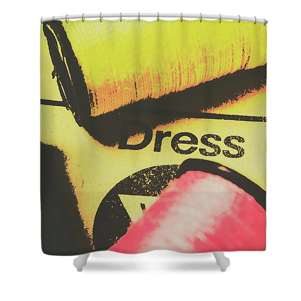 Close To The Pattern Design Shower Curtain
