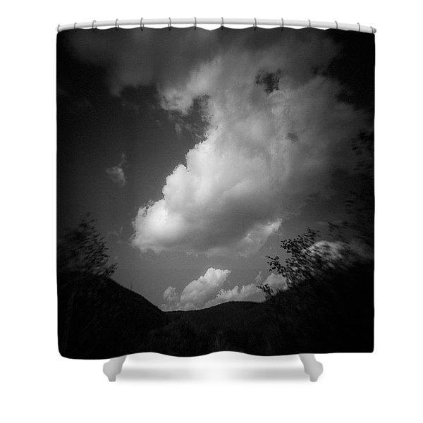 Cloud #2186 Shower Curtain