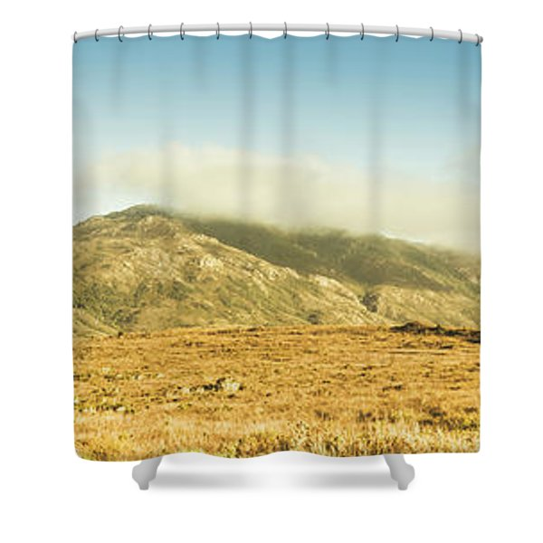Cloud And Mountain Magnificence Shower Curtain
