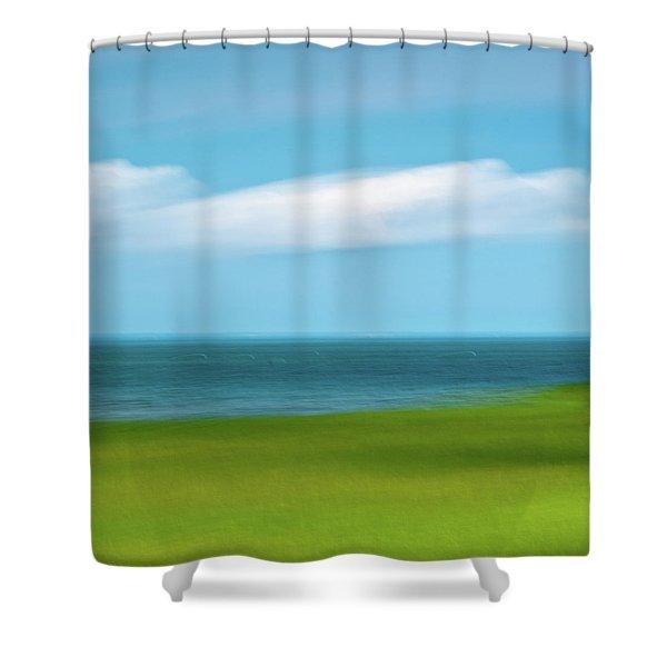 Cloud Bank 3 Shower Curtain