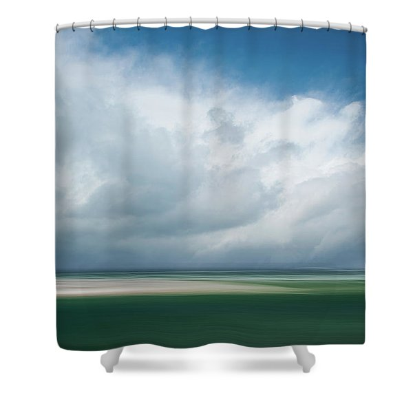 Cloud Bank Over Chatham Shower Curtain