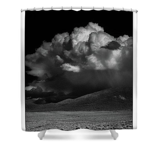 Cloud Burst Shower Curtain