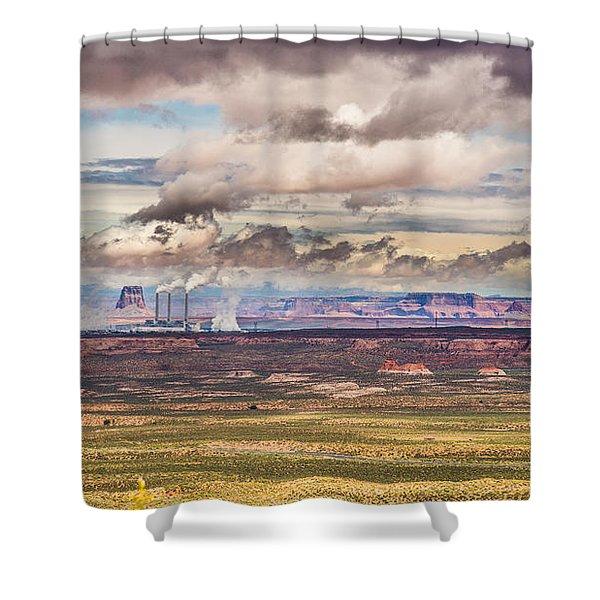 Cloud Factory Shower Curtain