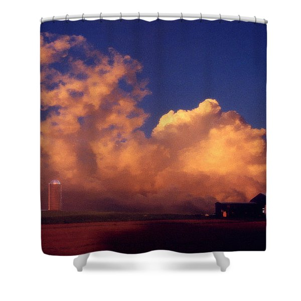 Cloud Farm Shower Curtain