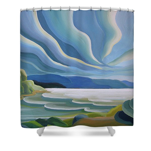 Cloud Forms Shower Curtain