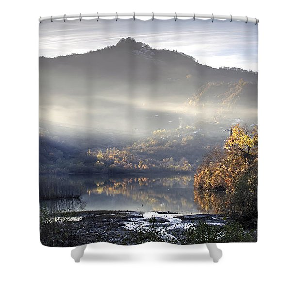 Mist In The Evening Shower Curtain