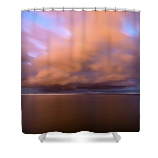 Cloud Motion At Dawn  Shower Curtain