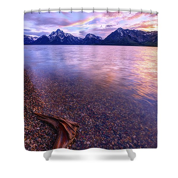 Clouds And Wind Shower Curtain