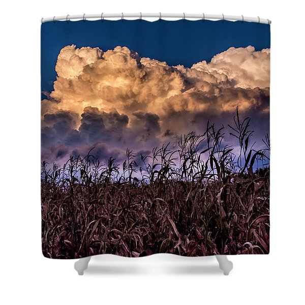 Clouds Over Fagagna Shower Curtain