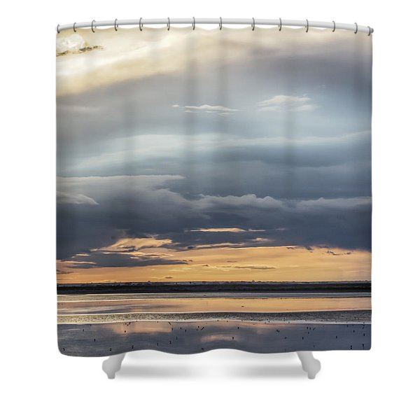 Clouds Over The Bottoms Shower Curtain