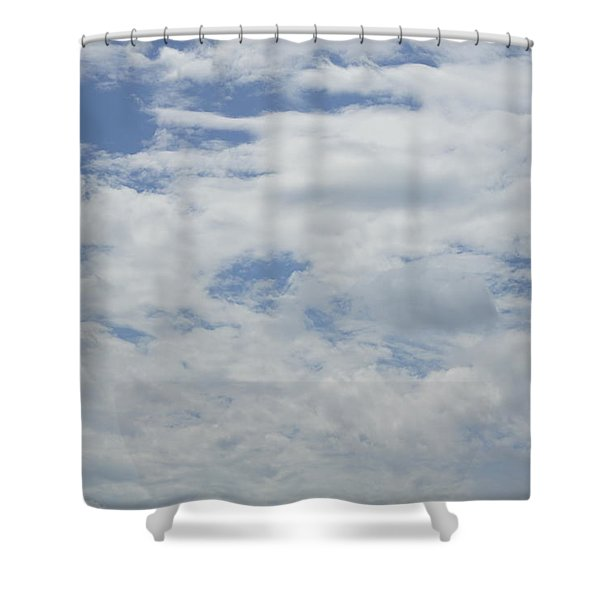 Clouds Photo IIi Shower Curtain