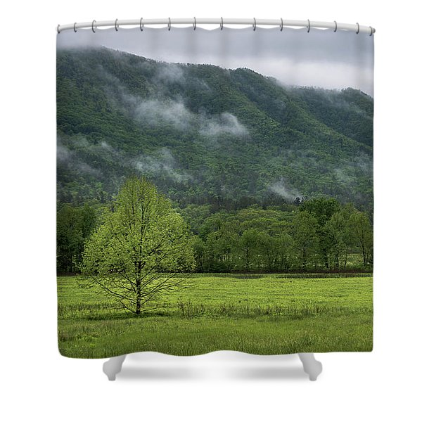 Shower Curtain featuring the photograph Clouds Rolling In by Andrea Silies