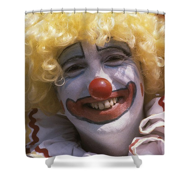 Clown-1 Shower Curtain