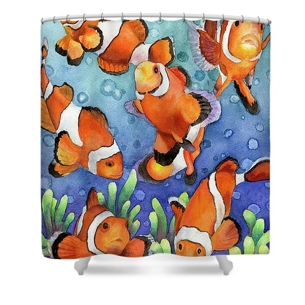 Clown Fish Shower Curtain