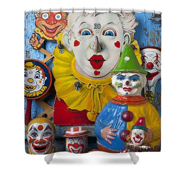 Clown Toys Shower Curtain