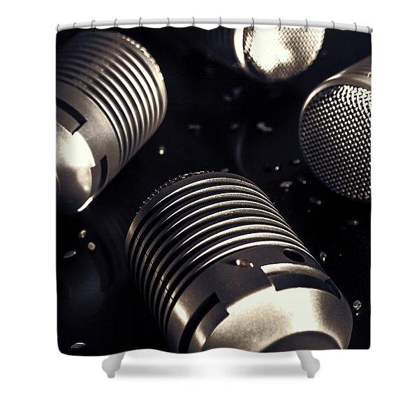 Club House Dj Shower Curtain